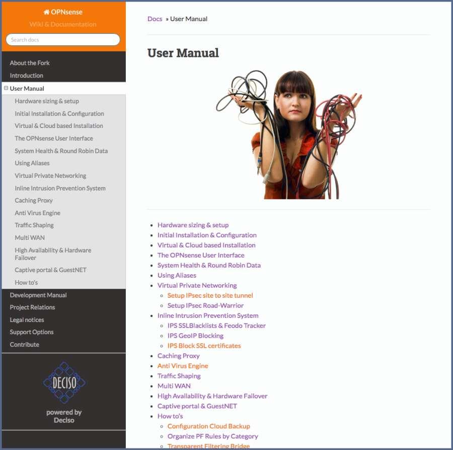 OPNsense Online Documentation