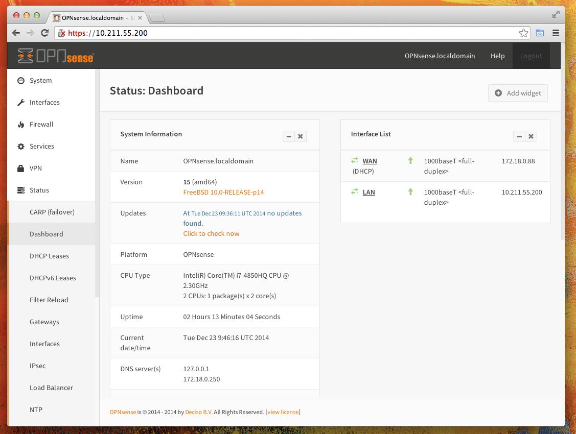 Deciso startet opnsense eine neue open source firewall initiative