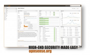 OPNsense 16.1.16 New Dashboard